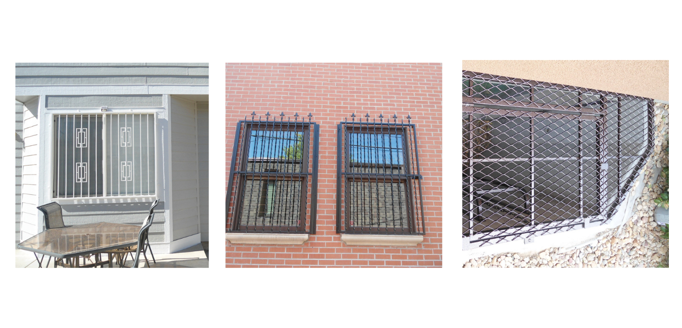 Custom Steel Window Guards and Well Grates in Denver