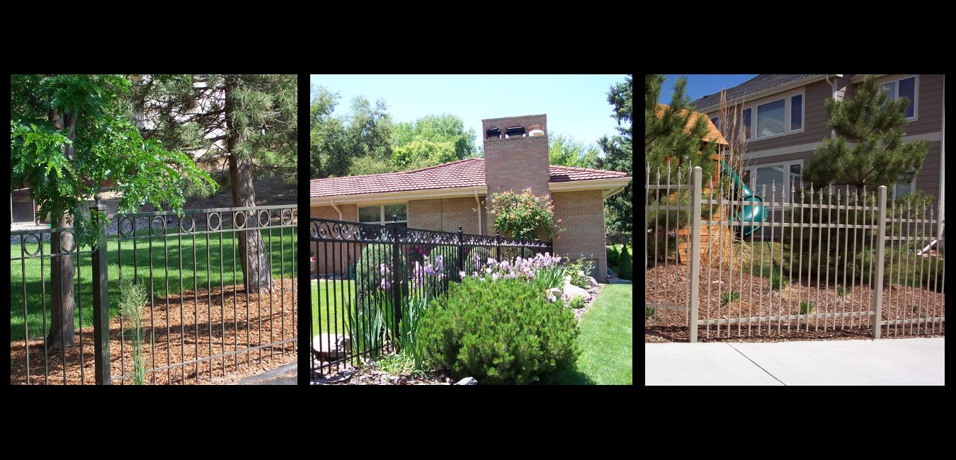 Custom Steel Fences in Denver